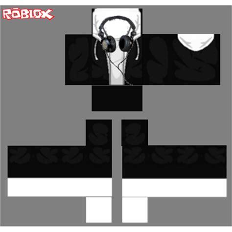 Jaket Sweater Roblox Box Logo 313 Clothing black hoodie headphones roblox