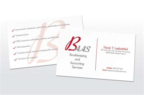 free template business cards for bookkeeping services business cards bookkeeping services gallery card design