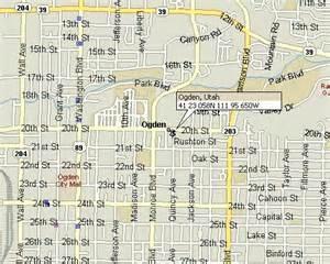 Ogden Utah Map by Ogden Utah Map 3