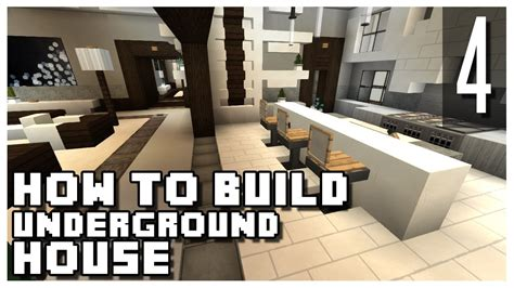how to build underground house how to build an underground house in minecraft part 4