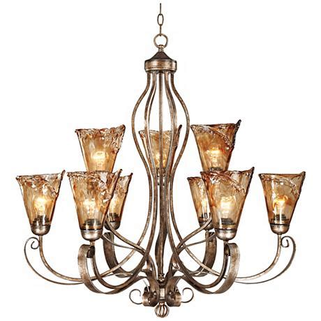 franklin iron works franklin iron works scroll 35 1 2 quot wide chandelier 66491 lsplus
