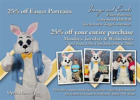Bench Stores 25 Off Easter Portraits At South Hill Mall Tuesday