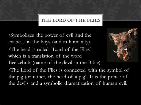 power symbols in lord of the flies lord of the flies symbolism ppt download