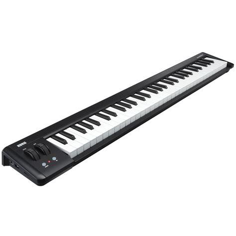 Keyboard Korg Pa50 Usb korg microkey 61 usb midi keyboard mit 61 tasten auf gear4music de