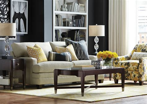 living room accent chairs living room bassett furniture hgtv home design studio cu 2 custom sofa by bassett