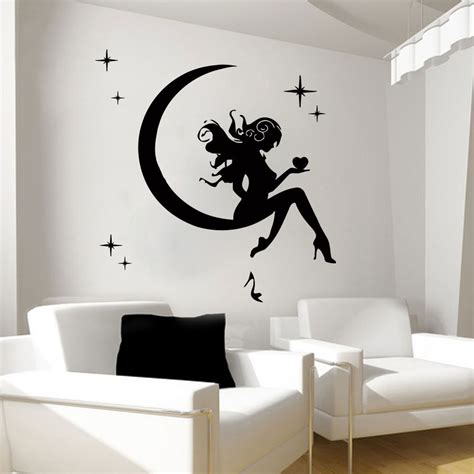 wall decals fairy decal vinyl sticker bathroom kitchen