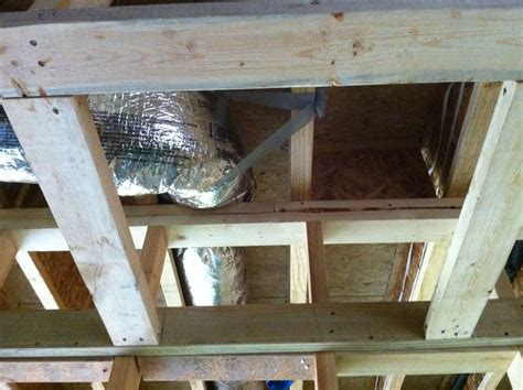 Garage Joists The Difficulty Of Stopping Air Leakage Between The House