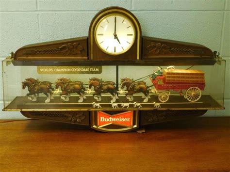 budweiser light for sale budweiser clydesdale light clock for sale classifieds
