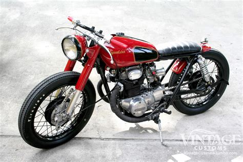 classic honda honda cb350 the speedster by vintage customs