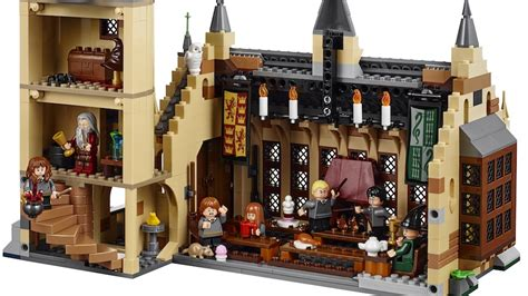 your first look at lego s new harry potter hogwarts great