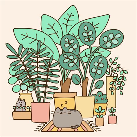 Pineapple Wallpaper by Pusheen The Cat