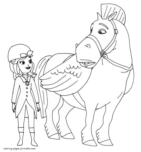 sofia the coloring sofia coloring pages printable
