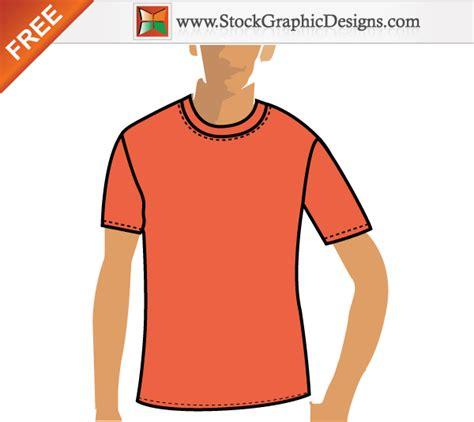 free vector orange t shirt design template 123freevectors