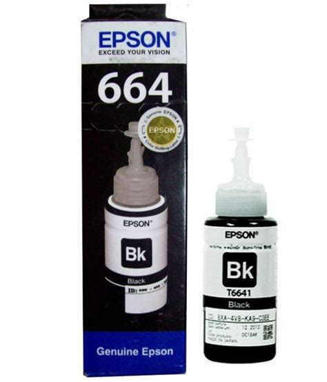 Tinta Epson L800series T6731 Black Ink Bottle 70ml epson t6641 black ink bottle pavan computers garden city