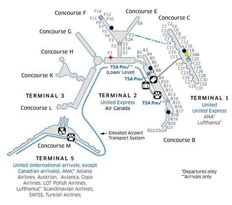 chicago ohare map chicago o hare international ord airport map travel