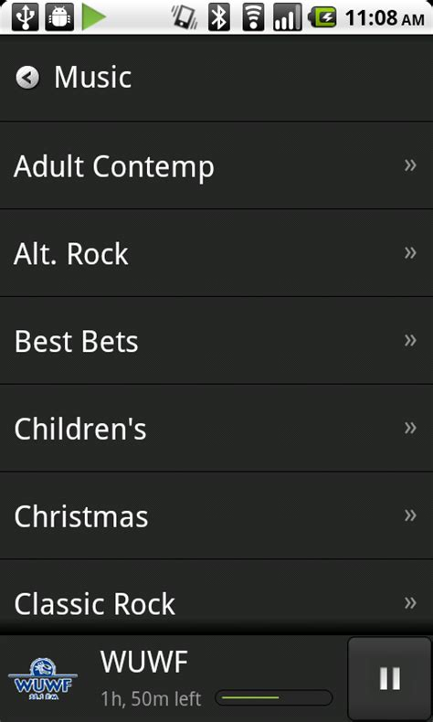 tunein radio app android free android app tunein radio android central