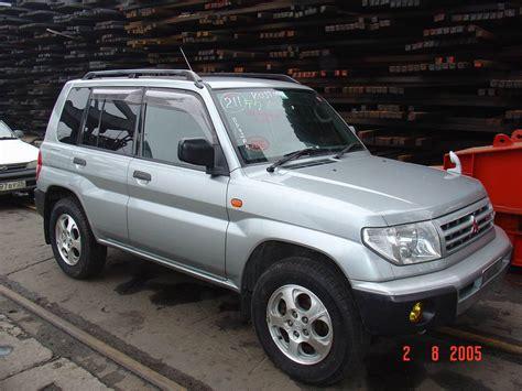 pajero mitsubishi 2005 2005 mitsubishi pajero pinin pictures information and