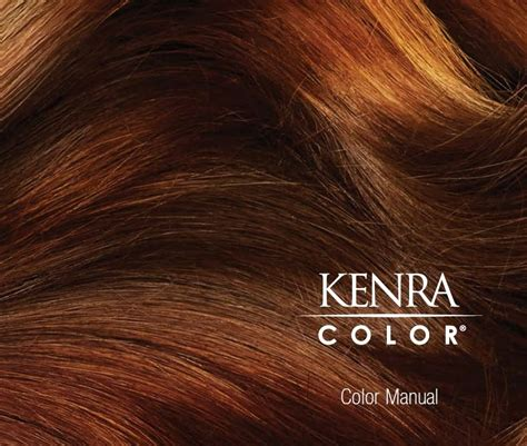 kenra color kenra color manual confessions of a