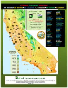 usda hardiness zones map california