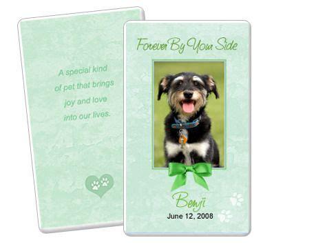 pet card templates 19 best images about pet memorials templates on