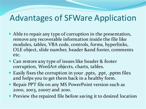 how to repair powerpoint files how to repair ppt files