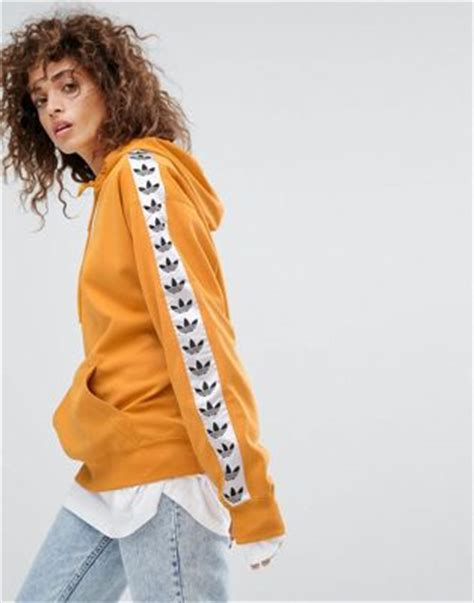Chion Hoodie Original Yellow adidas originals adidas originals tnt pullover hoodie in yellow