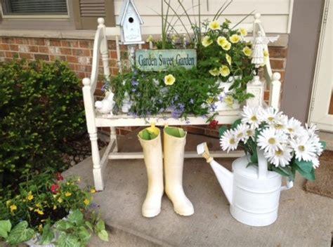 Garden Decor Ideas Pinterest 夏の玄関飾りインテリア ポーチ 玄関ドアのデコレーション Interior Design Box 海外の使えるインテリア術