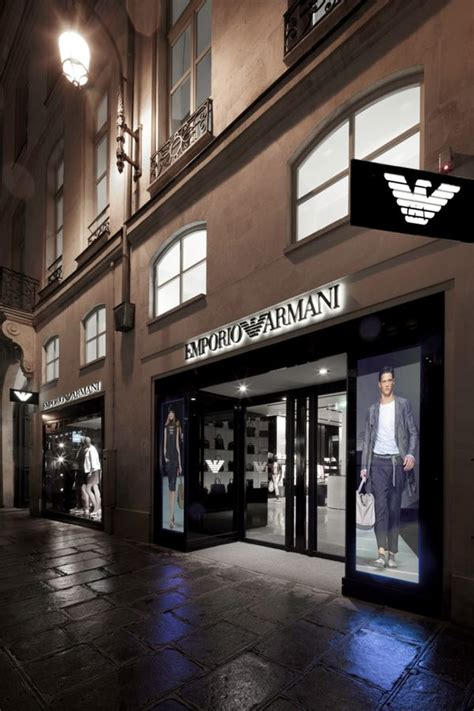 St Armani stories emporio armani with second store in