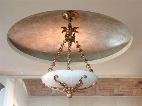 Gold Leaf Ceiling Paint by Metallic Gold Leaf Silver Leaf Ceilings And Domes