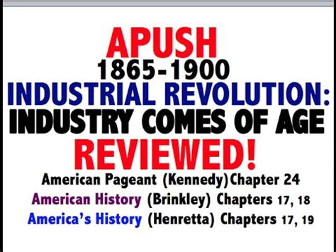 Chapter 10 American Pageant Outline by Apush Review Elaegypt