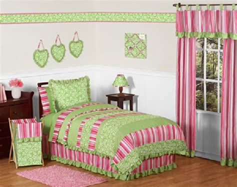 pink and green bedding pink and green olivia bedding set kids bedding