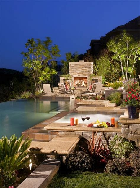 Backyard Spa Landscaping Ideas Swimming Pool Newport Ca Photo Gallery Landscaping Network