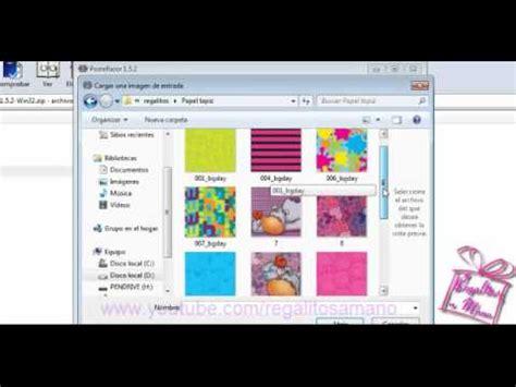 como agregar varias imagenes a pdf como imprimir una imagen en varias hojas haz tu propio
