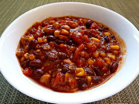 best chilli the best vegetarian bean chili recipe dishmaps