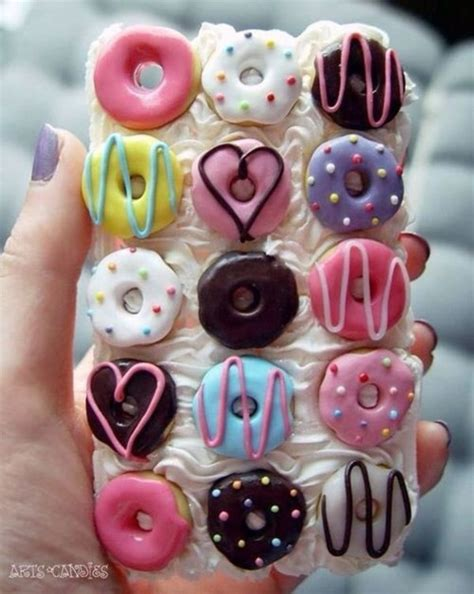 Mini Donut Iphone phone cover donut food 3d donut iphone donuts wheretoget