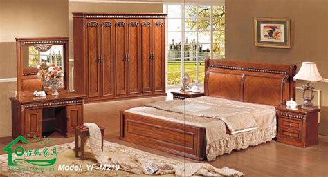 Wooden Furniture Design For Bedroom Photos China Solid Wood Furniture Wooden Bedroom Furniture Yf M219 Bedroom Wood Furniture