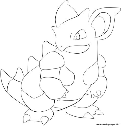 pokemon coloring pages nidoking 031 nidoqueen pokemon coloring pages printable
