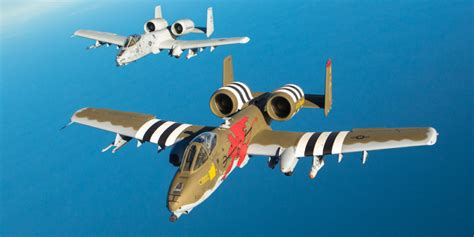 The A 10 Warthog Gets A Boost From Air Force Secretary