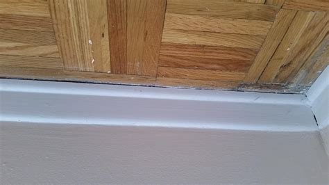 How To Seal Wood Floors by Insulation What To Use When Sealing Floor To Wall And