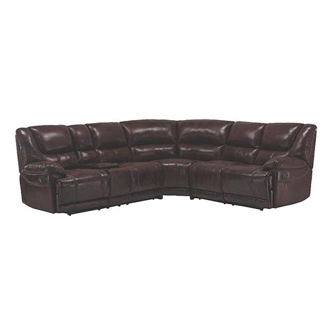 Sears Reclining Sofa venetian worldwide vw ch123180 the venetian dual reclining sofa sectional brown sears outlet