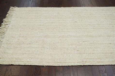 fibers bleached chunky loop area rug carpet