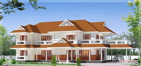 beautiful luxury two storey house design kerala home