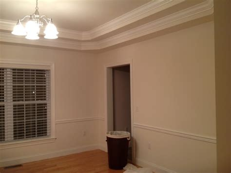 painting ideas for dining room with chair rail dining room painting trey ceiling chair rail