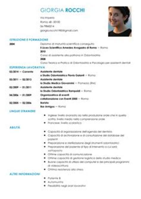 offerte di lavoro come assistente alla poltrona curriculum vitae assistente dentale modello livecareer