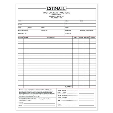 home improvement receipt templates home repair invoice template adobe word free home repair