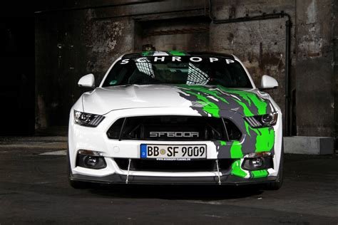 tuning mustang official 807hp ford mustang sf600r by schropp tuning