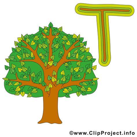 for tree t is for tree alphabet bilder