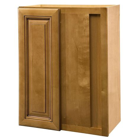 Corner Cabinets With Doors Home Decorators Collection Lewiston Assembled 24x30x12 In Single Door Hinge Right Wall Kitchen