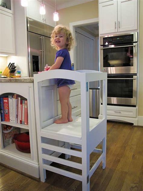 Kitchen Helper by Modified Folding Kitchen Helper From White Diy