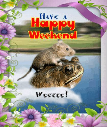 A Cute And Funny Weekend Ecard. Free Enjoy the Weekend